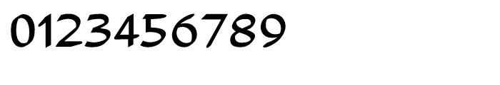 Adams Regular Font OTHER CHARS