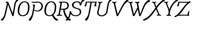 Adantine Capitals Font UPPERCASE
