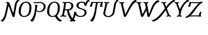 Adantine Small Capitals Bold Font UPPERCASE