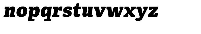 Adelle CYR Heavy Italic Font LOWERCASE