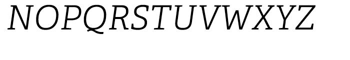 Adelle CYR Light Italic Font UPPERCASE