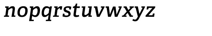Adelle CYR SemiBold Italic Font LOWERCASE