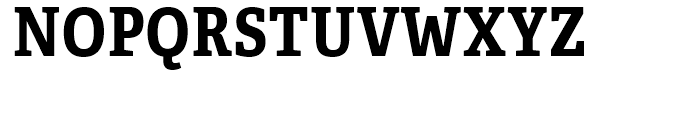 Adelle Condensed Bold Font UPPERCASE