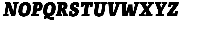 Adelle Condensed Heavy Italic Font UPPERCASE