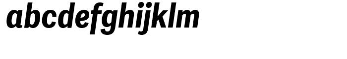 Adelle Sans Condensed Bold Italic Font LOWERCASE
