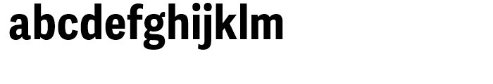 Adelle Sans Condensed Bold Font LOWERCASE