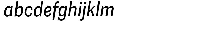 Adelle Sans Condensed Italic Font LOWERCASE