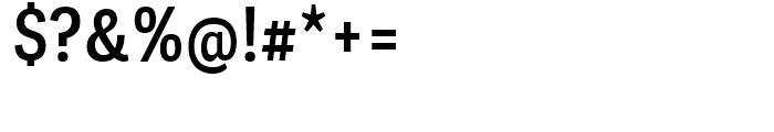 Adelle Sans Condensed SemiBold Font OTHER CHARS
