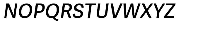 Adelle Sans Semibold Italic Font UPPERCASE