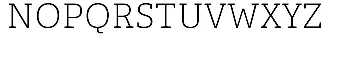 Adelle Thin Font UPPERCASE