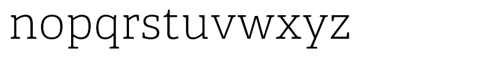 Adelle Thin Font LOWERCASE