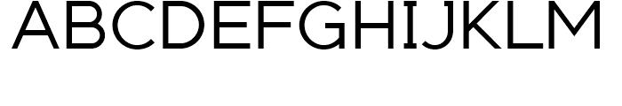 Adequate Regular Font UPPERCASE