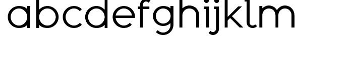 Adequate Regular Font LOWERCASE