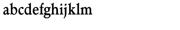 Administer TC Bold Condensed Font LOWERCASE