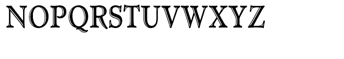 Administer TC Handtooled Condensed Font UPPERCASE