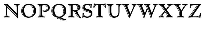 Administer TC Handtooled Font UPPERCASE