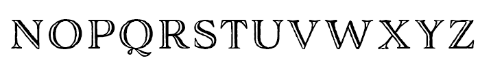 Adorn Engraved Font LOWERCASE