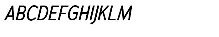 Adrianna Cond Italic Font UPPERCASE