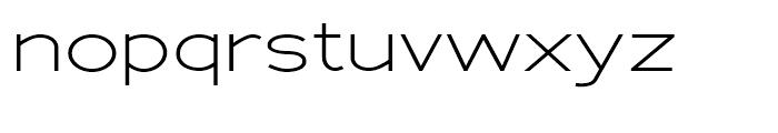 Adrianna Extd Light Font LOWERCASE