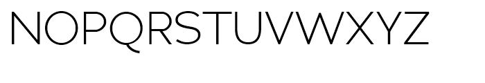 Adrianna Light Font UPPERCASE