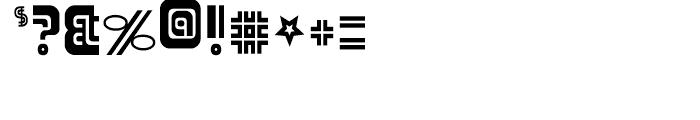 Adriator Regular Font OTHER CHARS