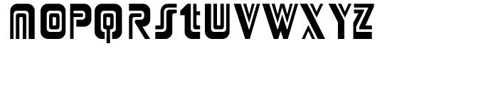 Adriator Regular Font UPPERCASE