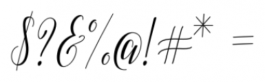 Adalberta Pro Regular Font OTHER CHARS