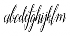 Adalberta Regular Font LOWERCASE