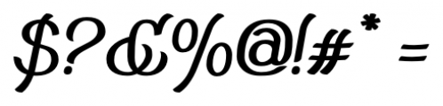 Adantine  Bold Font OTHER CHARS