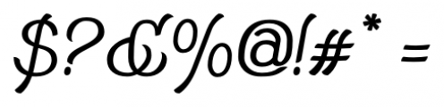 Adantine  Regular Font OTHER CHARS