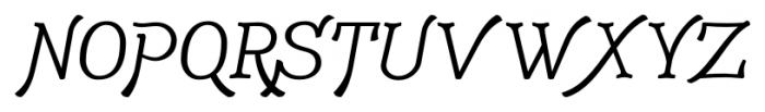 Adantine  Regular Font UPPERCASE