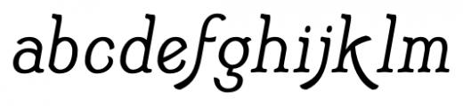 Adantine  Regular Font LOWERCASE