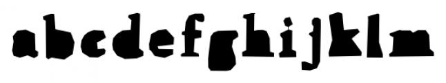 Addlethorpe 2 Font LOWERCASE