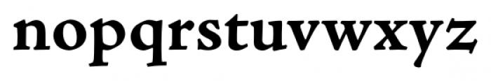 Adobe® Jenson™ Pro Bold Caption Font LOWERCASE