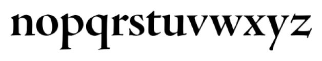 Adobe® Jenson™ Pro Bold Display Font LOWERCASE