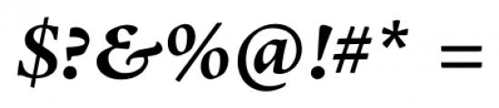 Adobe® Jenson™ Pro Bold Italic Font OTHER CHARS