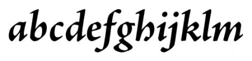 Adobe® Jenson™ Pro Bold Italic Font LOWERCASE