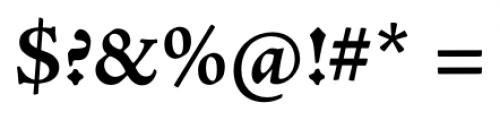 Adobe® Jenson™ Pro Bold Font OTHER CHARS