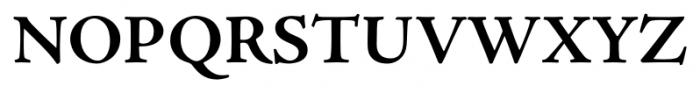 Adobe® Jenson™ Pro Bold Font UPPERCASE