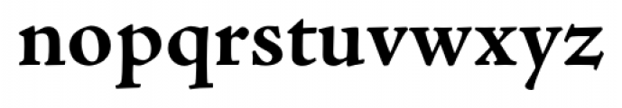 Adobe® Jenson™ Pro Bold Font LOWERCASE