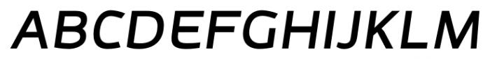 Adonide Medium Italic Font UPPERCASE