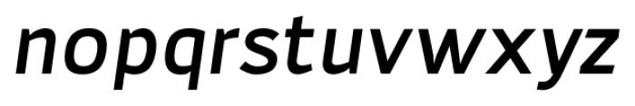 Adonide Medium Italic Font LOWERCASE