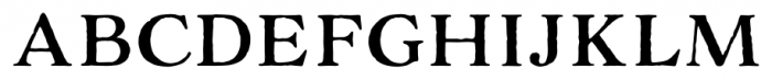 Adorn Serif Font UPPERCASE