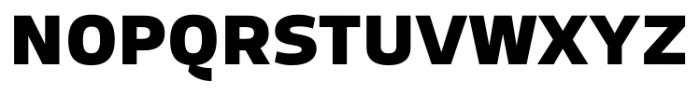 Adria Grotesk UprightItalic Black Font UPPERCASE