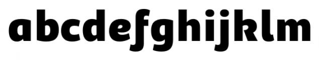 Adria Grotesk UprightItalic Black Font LOWERCASE