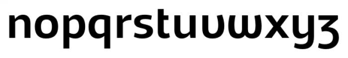 Adria Grotesk UprightItalic Medium Font LOWERCASE