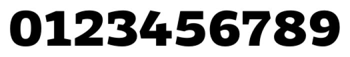 Adria Slab UprightItalic Black Font OTHER CHARS