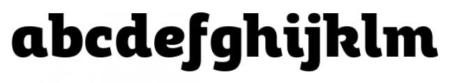 Adria Slab UprightItalic Black Font LOWERCASE
