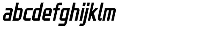 ADIL Sans Condensed Light Italic Font LOWERCASE