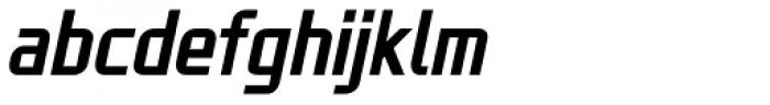 ADIL Sans Italic Font LOWERCASE